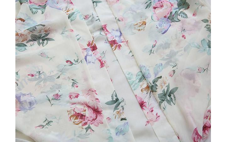 꽃무늬 꽃문양 기모노 유카타 스타일 여성 가운 슬립 8종 - 리빙잇템, 18,500원, 여성 이너웨어, 슬립