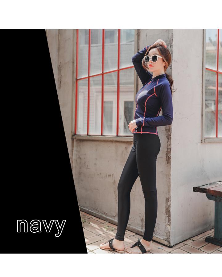여성 집업 래쉬가드 레쉬가드 워터 레깅스 세트 여자 수영복 상하의 - 리빙잇템, 39,500원, 여성비치웨어, 래쉬가드